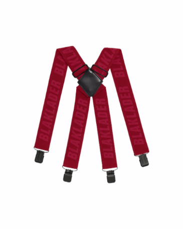 Blaklader 4009 Braces (Red)